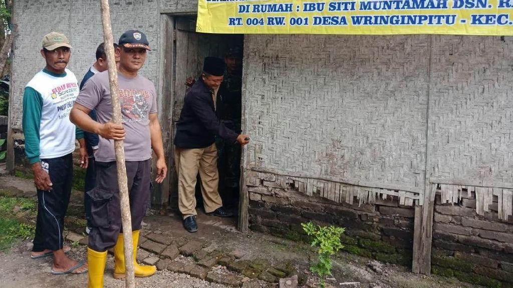 Cerita Aiptu Sutomo, Dorong Warga Banyuwangi Bangun Rumah Layak Huni