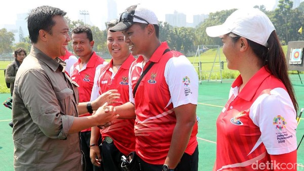 Tinjau Pelatnas Asian Games, Menpora Dapat Keluhan Tempat Latihan