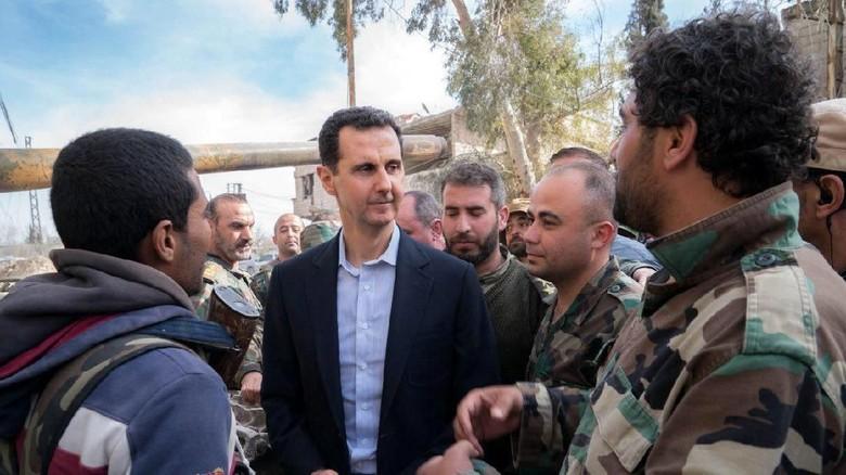 Serangan Rudal AS dan Sekutu Kenai Fasilitas Senjata Kimia Suriah