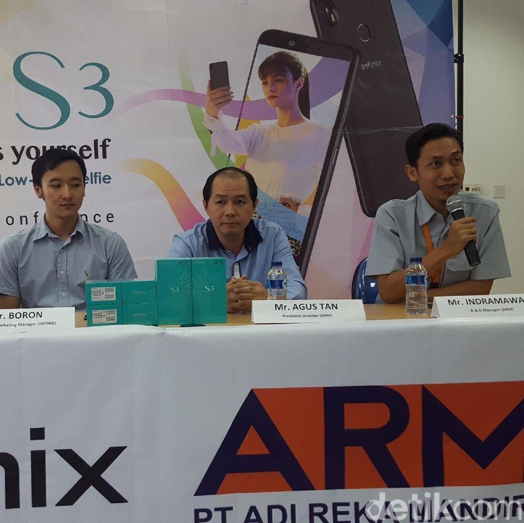 Smartphone Infinix Kini Diproduksi di Indonesia