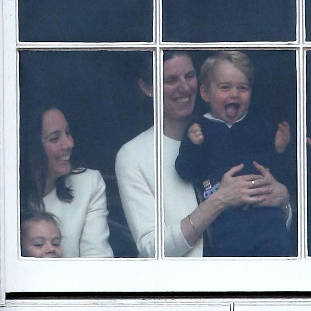 Maria Teresa, Pengasuh Pangeran George dan Putri Charlotte