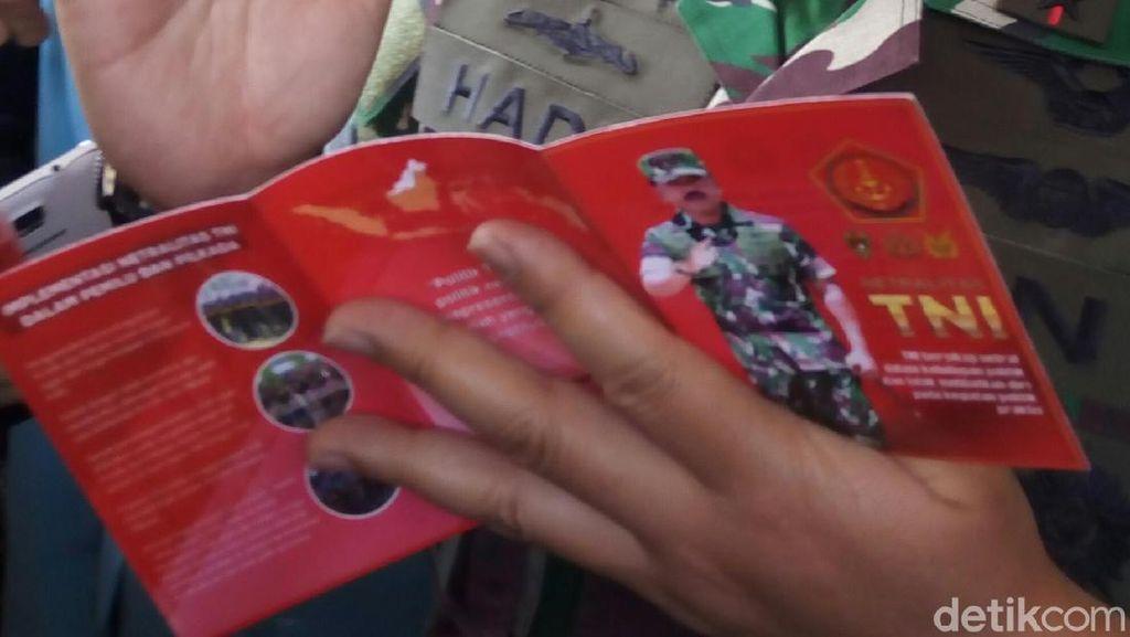 Demi Netralitas, Panglima TNI Wajibkan Prajurit Pegang Buku Saku