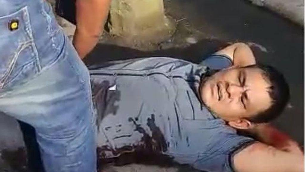 Terungkap! Pria yang Terkapar Didor di Tepi Jalan Bawa 30 Kg Sabu