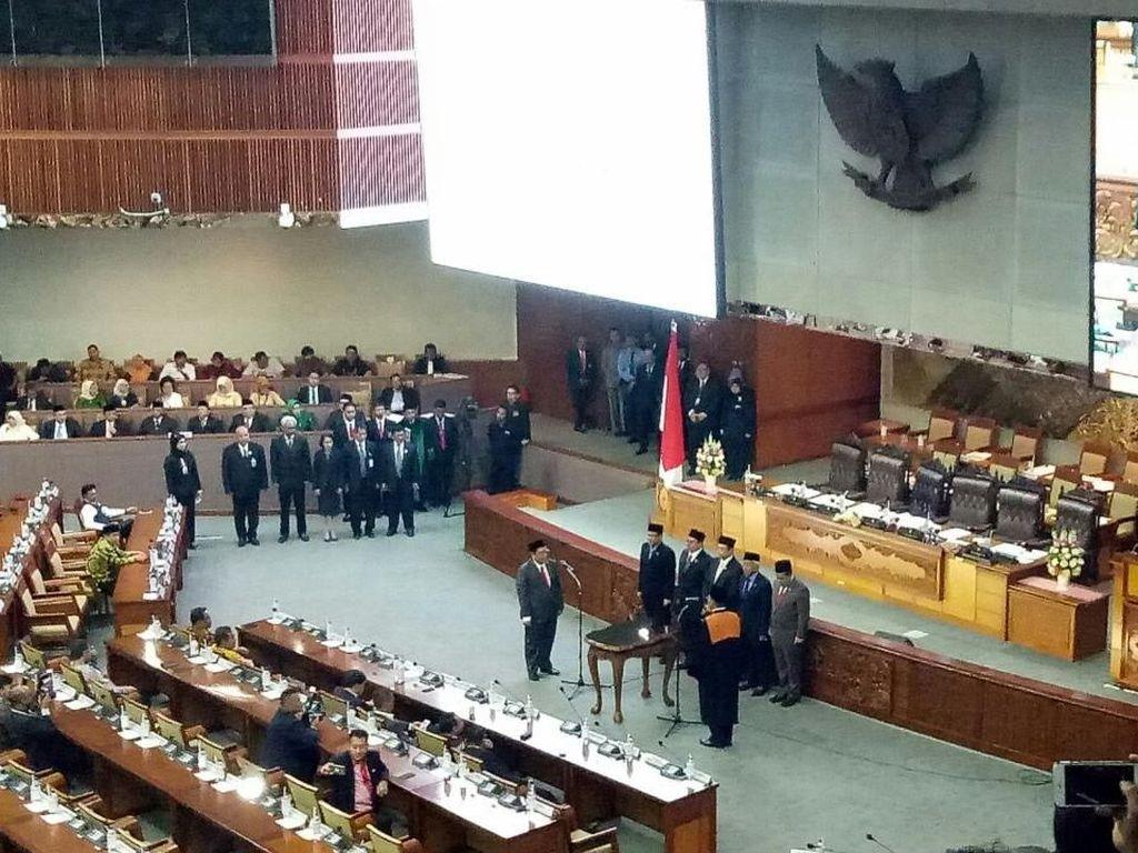 Sah! Utut Adianto Resmi Jabat Wakil Ketua DPR