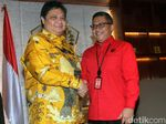 Bahas Pilpres, Sekjen PDIP Merapat ke DPP Partai Golkar