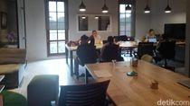 Foto: Jeroan Coworking Space Sandi dan Tim Gubernur di Balai Kota