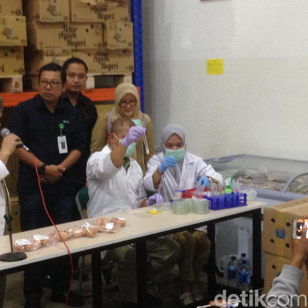 Pemprov Pastikan Tak Ada Telur Palsu di Jakarta
