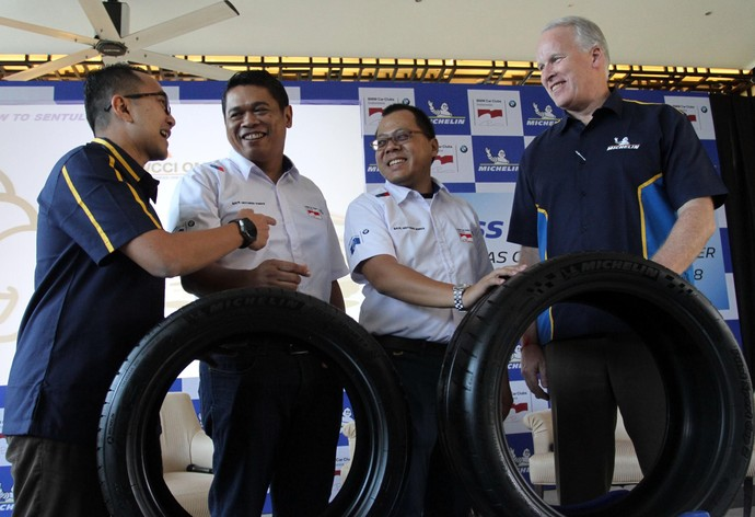 Michelin Jadi Official Tyre BMW Cars Club Indonesia