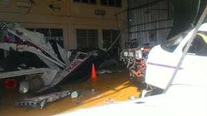 Pesawat Latih Celaka di Cilacap