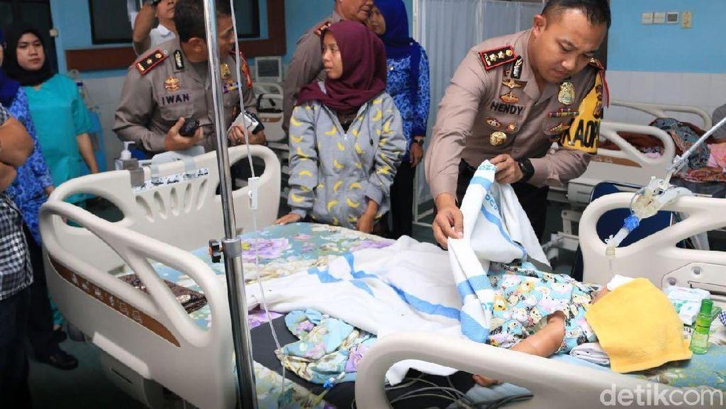 Bayi di Karawang Koma, Tubuh Penuh Memar dan Sundutan Rokok