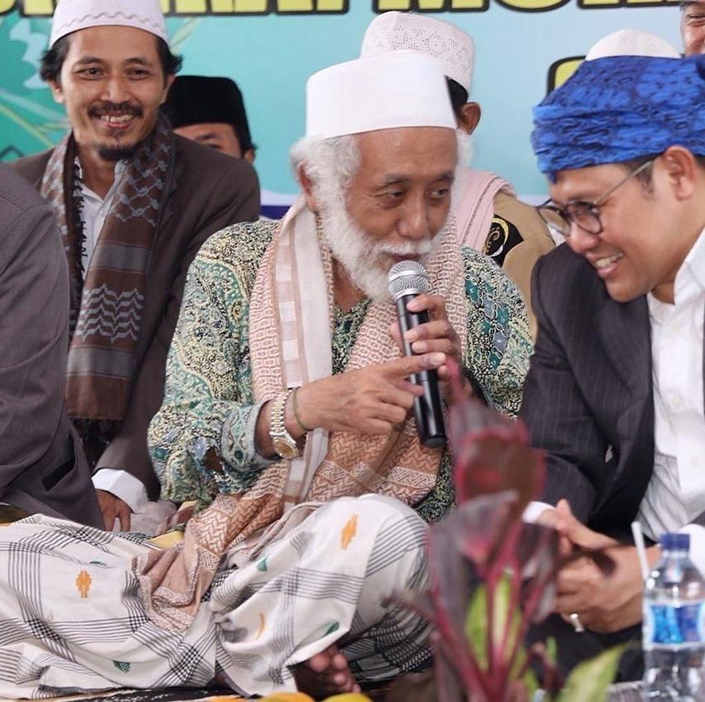 Abuya Dimyati Banten Dukung Cak Imin Maju Cawapres
