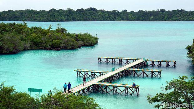 Dermaga Pulau Bair (Wahyu/detikTravel)