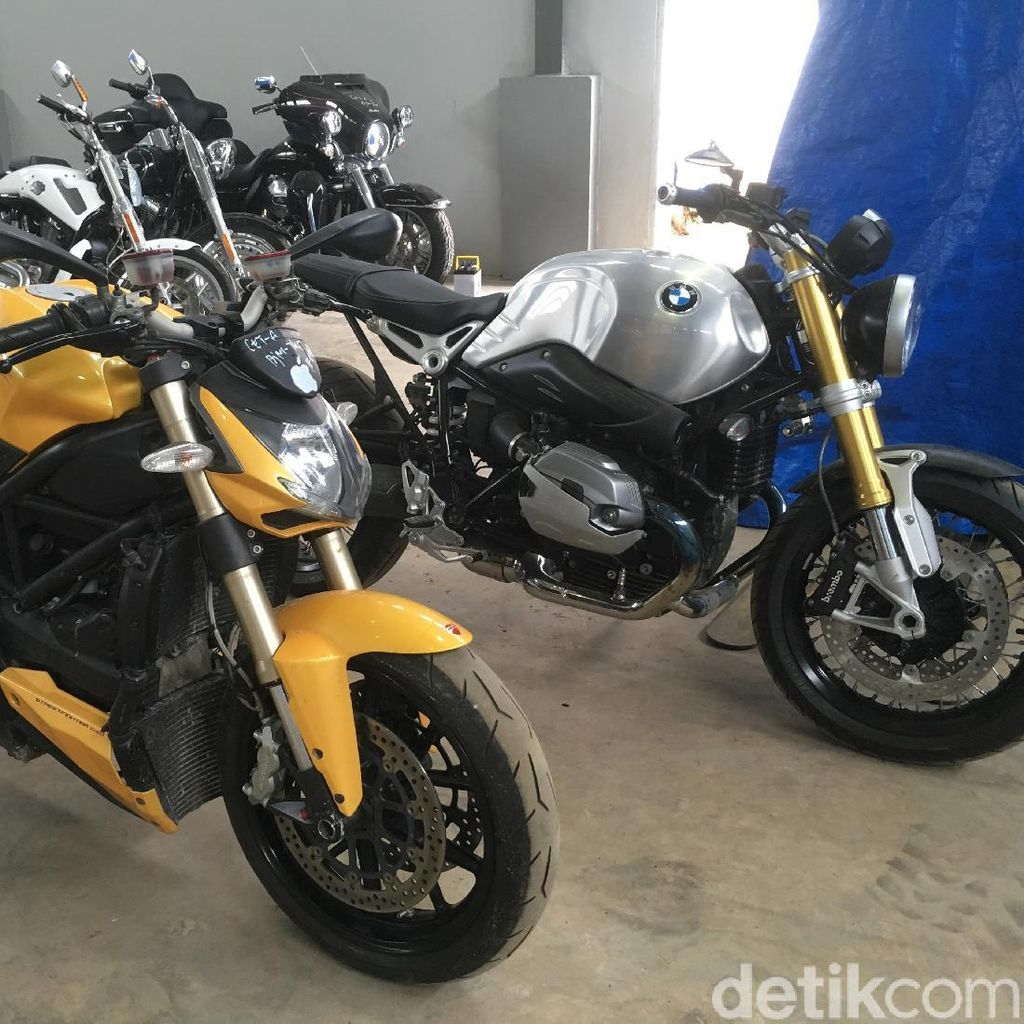 Melihat Kondisi Harley Davidson Sitaan KPK