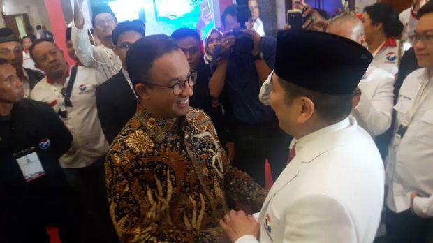 Ke Rapimnas Perindo dengan Anies, Sandi: Kacang Tak Lupa akan Kulit