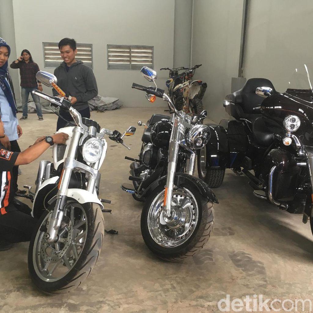 Teknisi Harley Davidson Ajari Petugas Rawat Moge Sitaan KPK