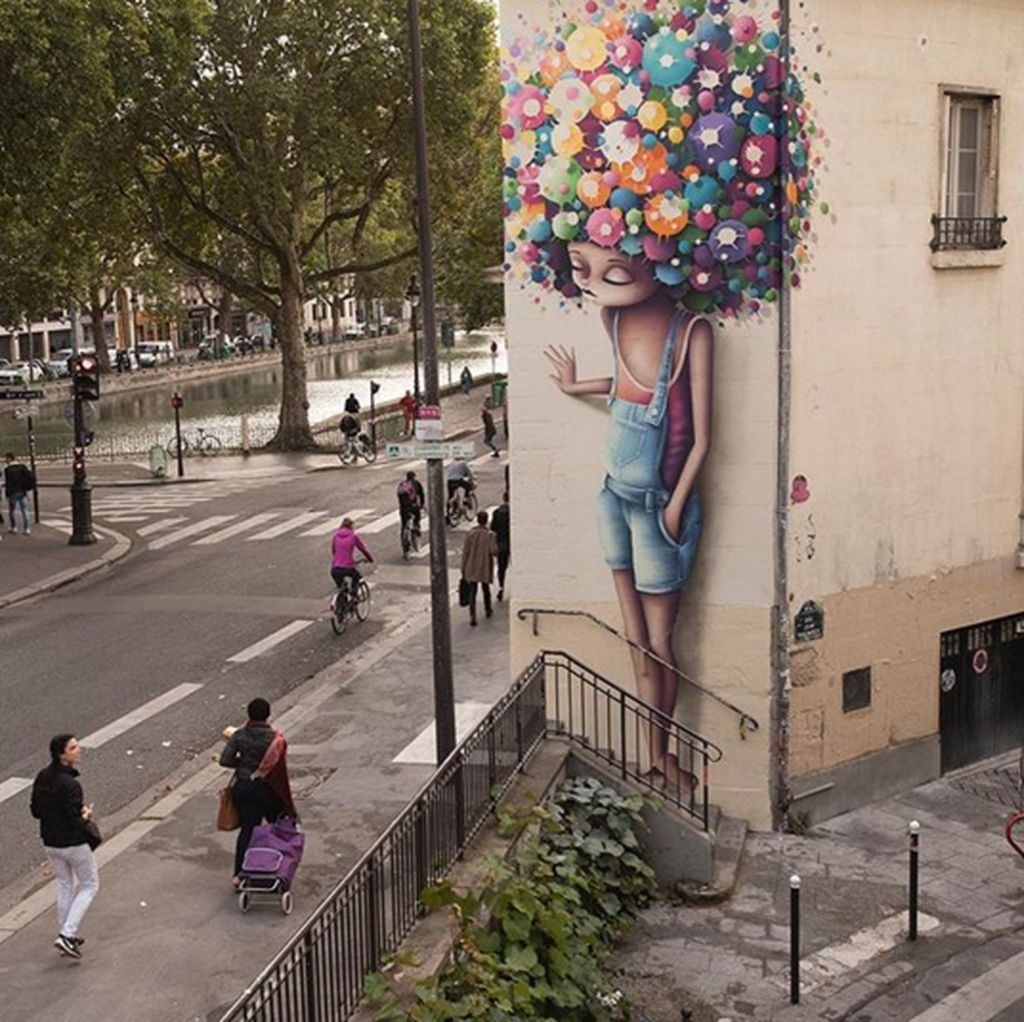 Mural Raksasa Berteknik Tinggi Ini Bikin Kagum