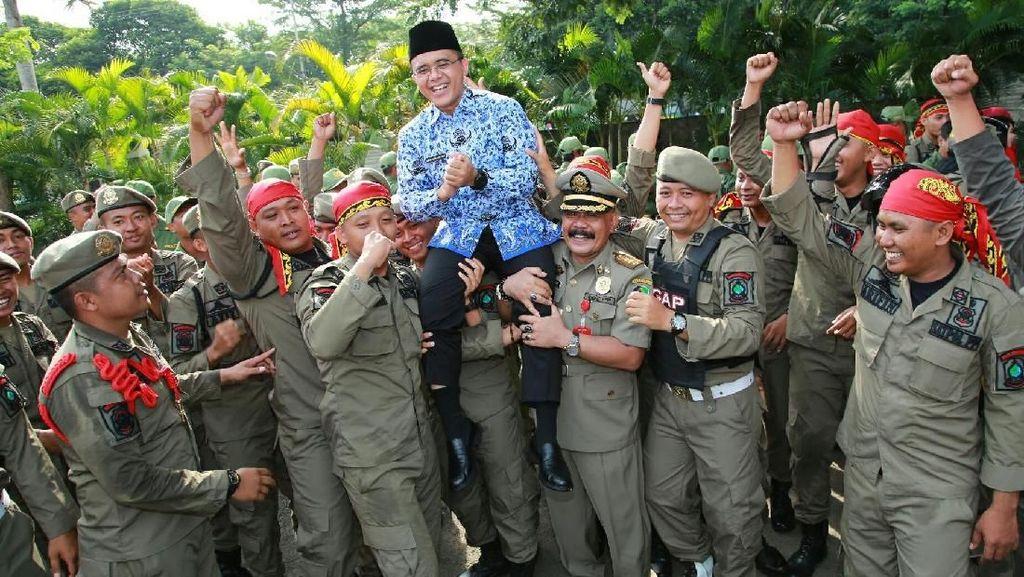 Di HUT Satpol PP, Bupati Anas Minta Penegakan Perda yang Tegas