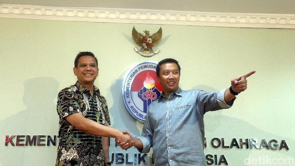 Dirut PT Liga Indonesia Baru Sowan ke Menpora