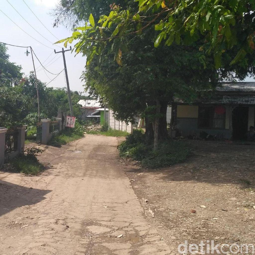Penampakan Kampung Terjepit Meikarta