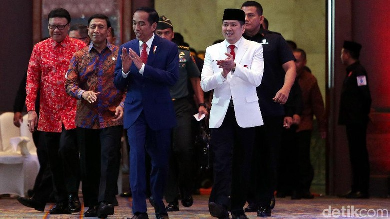 Foto: Perindo Usung Jokowi Jadi Capres 2019