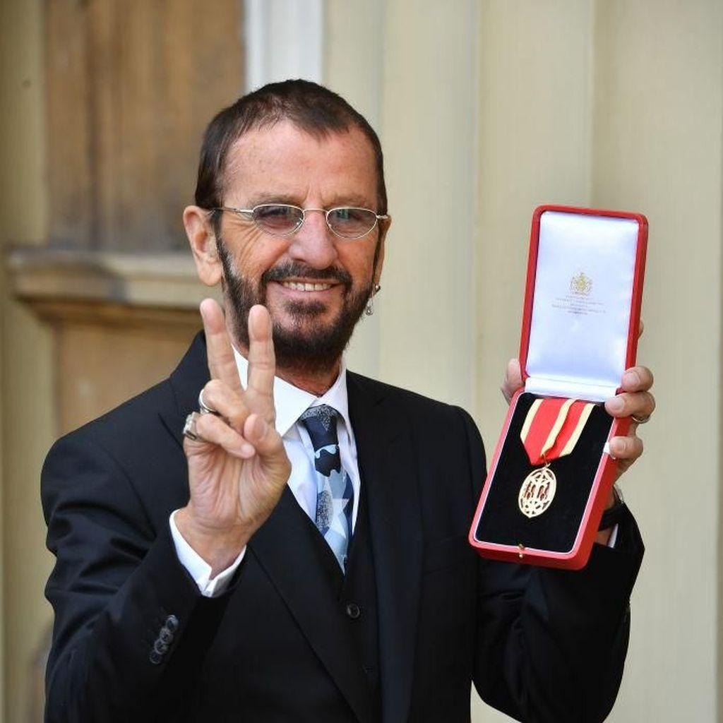 Halo, Sir Ringo Starr!