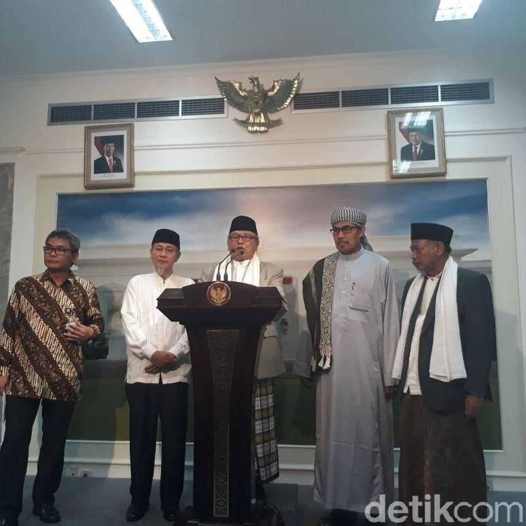 Bertemu Jokowi, Ulama Banten Curhat soal Hoax hingga Pahlawan