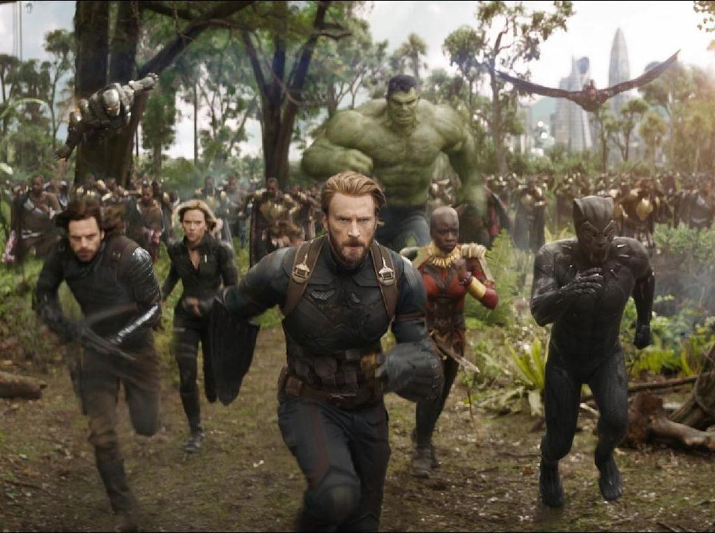 Lusinan Superhero di Infinity War Hanya Berperang
