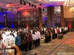 Didampingi Wiranto, Jokowi Hadiri Pembukaan Rapimnas Perindo