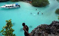 Pulau Bair di Kepulauan Kei (Wahyu Setyo Widodo/detikTravel)