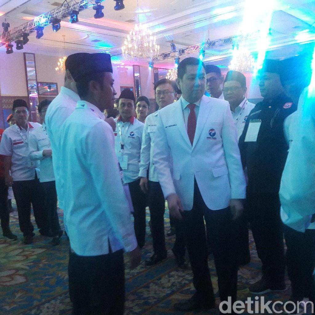 Jelang Rapimnas, Kader Perindo Mulai Padati JCC Senayan