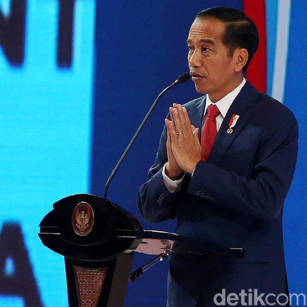 Didukung Koalisi Gemuk Maju Pilpres 2019, Jokowi: Ya Mantap Lah!