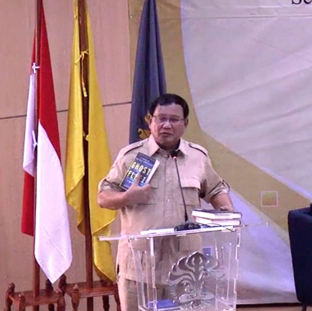Indonesia Bubar 2030 dari Fiksi atau Ilmiah? Ini Kata Prabowo