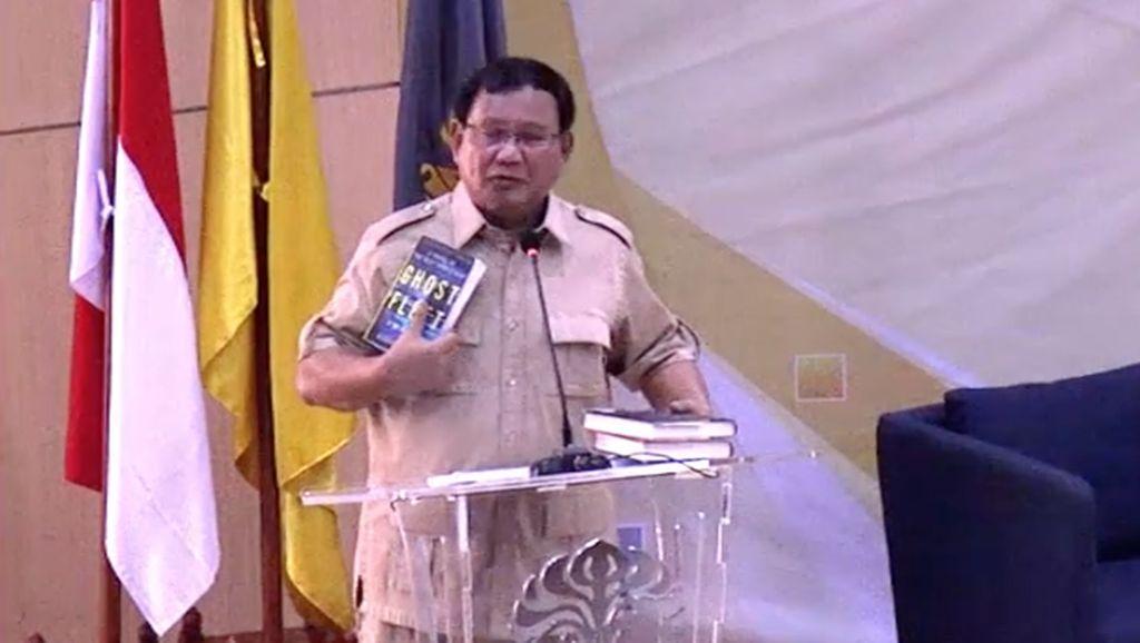 'Indonesia Bubar 2030' dari Fiksi atau Ilmiah? Ini Kata Prabowo