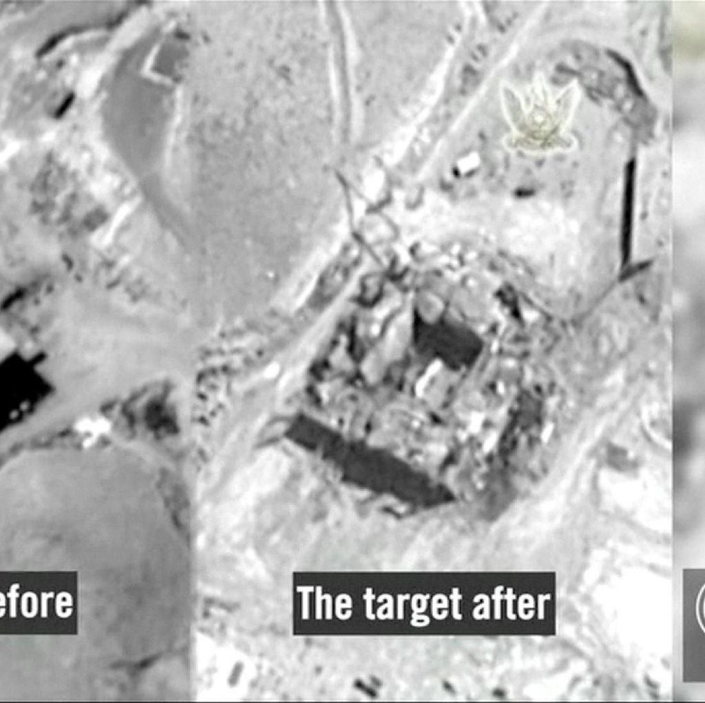 Before-After Reaktor Nuklir Suriah yang Dibom Israel di 2007