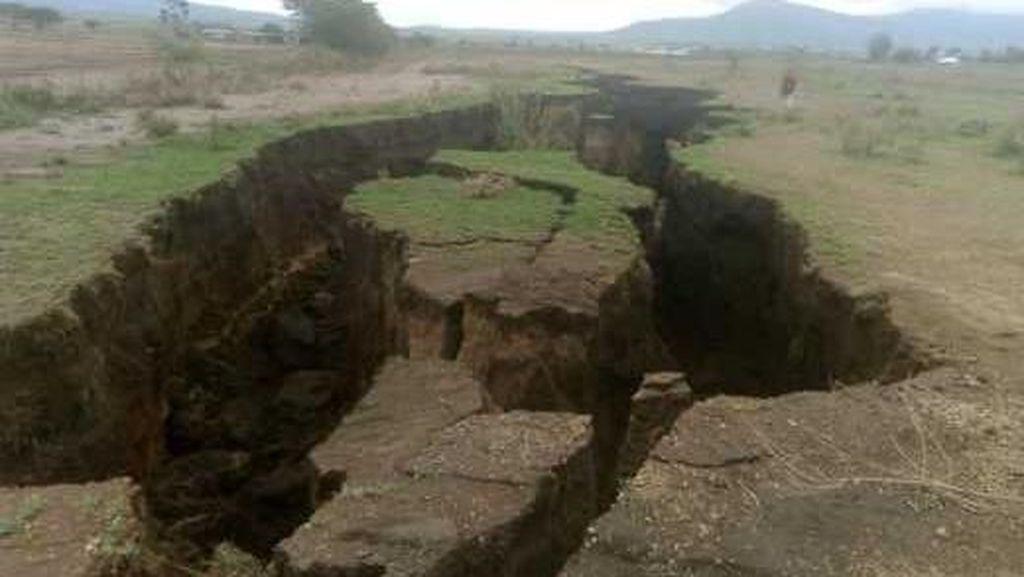 Retakan Besar Terjadi di Kenya, Benua Afrika Terbelah?
