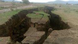 Ahli Geologi: Retakan di Kenya Bergeser 2,5 Cm Per Tahun