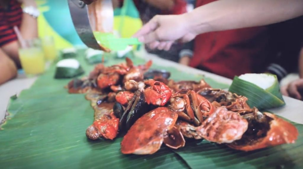 Makan Kepiting Sampai Babak Belur