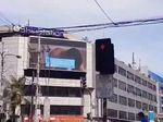 Heboh! Billboard di Jalanan Ramai Filipina Putar Video Porno