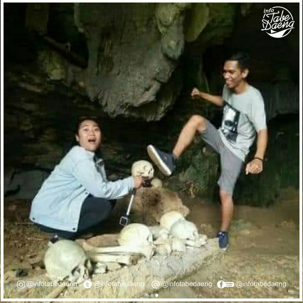 Wisatawan yang Melecehkan Makam Toraja Sesali Perbuatannya