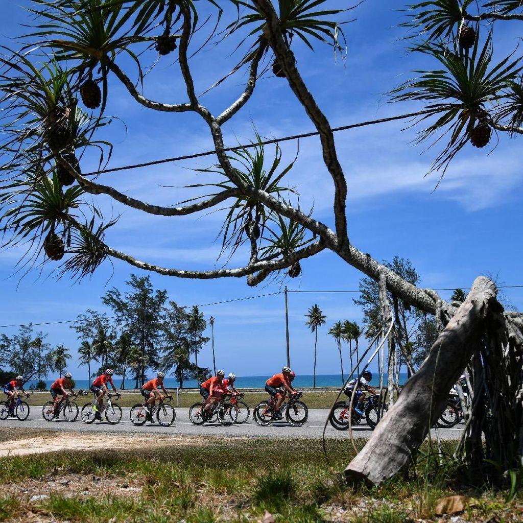 Separuh Perjalanan Tour de Langkawi 2018