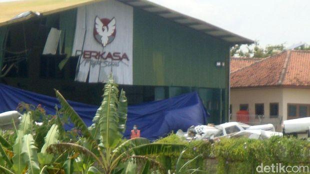 KNKT: Pesawat Latih yang Jatuh di Cilacap dalam Kondisi Hancur