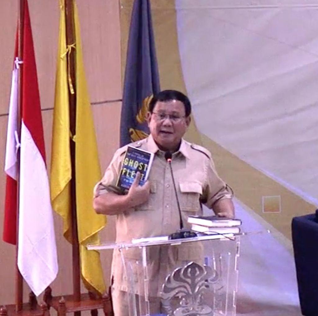 Lembaran Ghost Fleet, Fiksi di Balik Pidato Prabowo