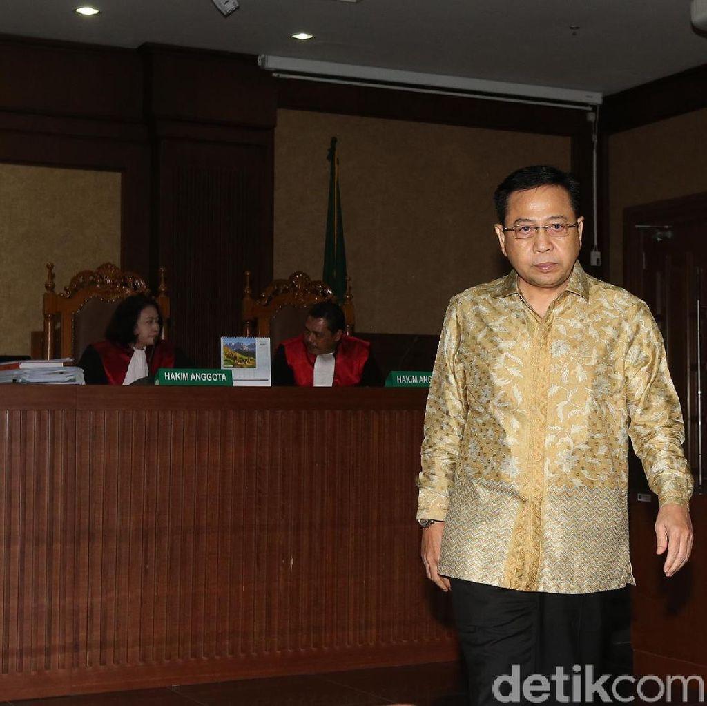 Novanto: Saya Menyesal, Saya Dimanfaatkan di Kasus e-KTP