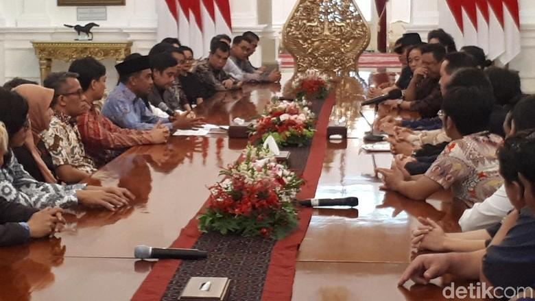 Saat Musisi Tanah Air Kompak Temui Jokowi di Istana