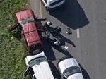 Foto: Momen Pengebom Berantai di Texas Terekam CCTV