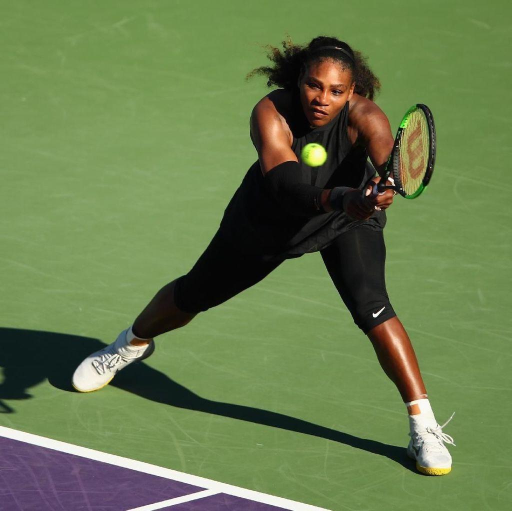 Serena Langsung Tersingkir di Babak Pertama Miami Masters