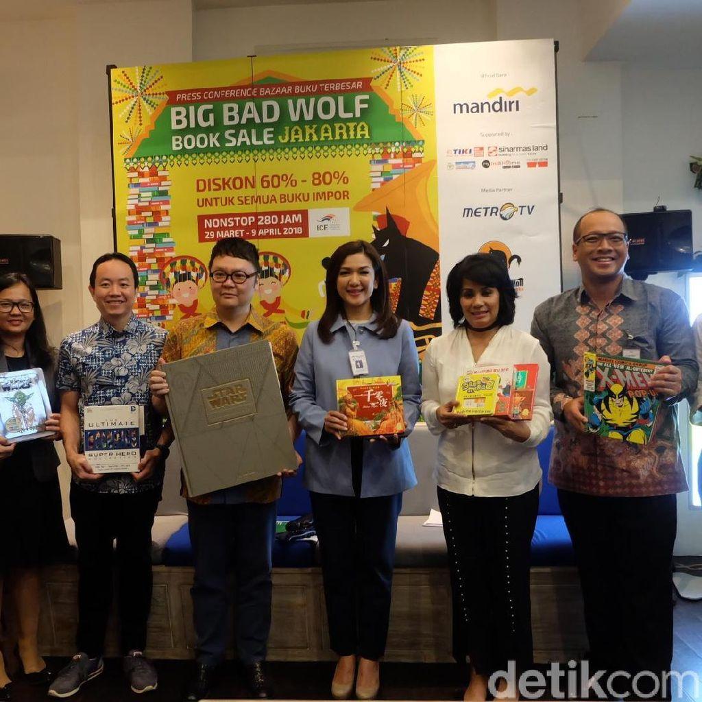 Big Bad Wolf 2018 Sediakan 5,5 Juta Buku dan Mayoritas Buku Anak