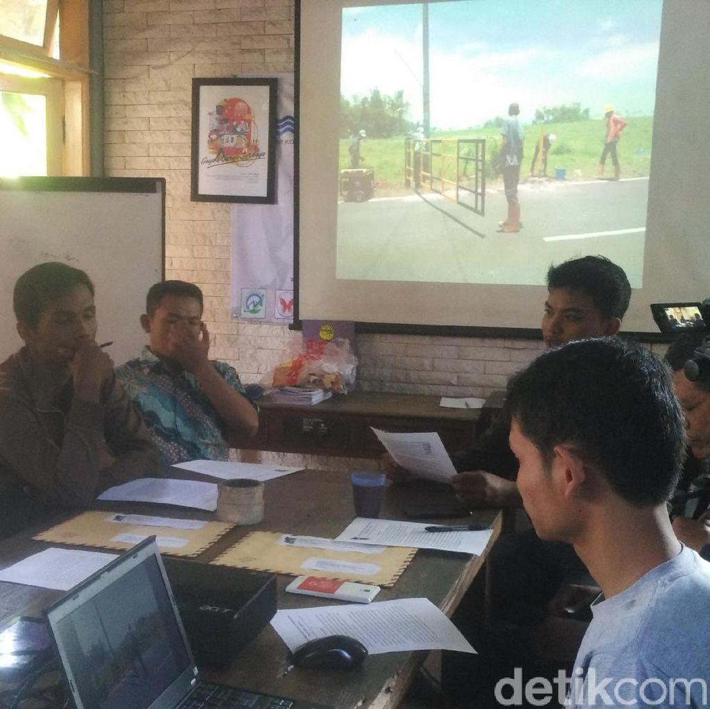 Warga Tolak Pemasangan Portal Pembangunan Bandara Kulon Progo