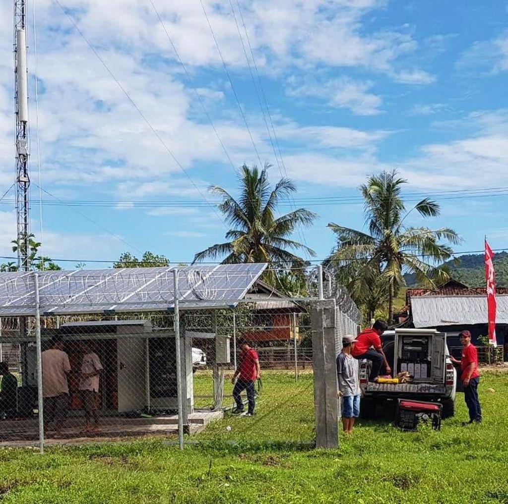 568 Desa yang Dulunya Tanpa Sinyal Kini Sudah Bisa Halo-halo