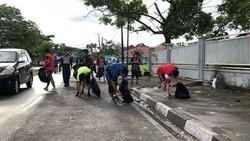 Misi Plogging Maros Runners: Minimal Jadi Malu Buang Sampah Sembarangan
